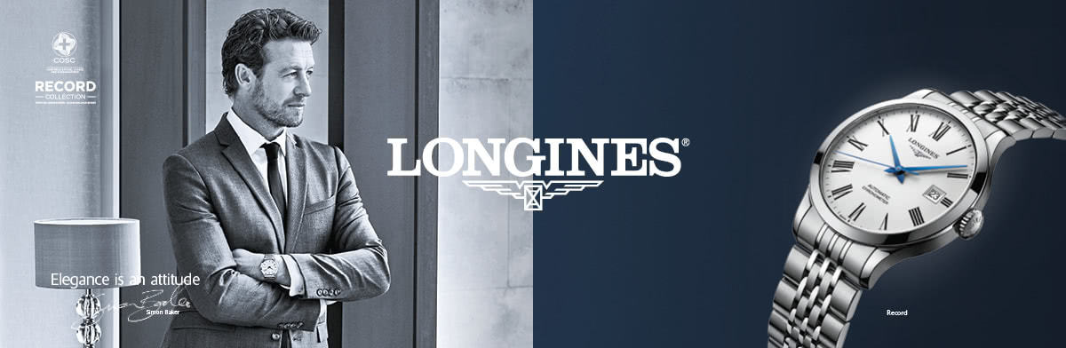 Longines watches - shop now