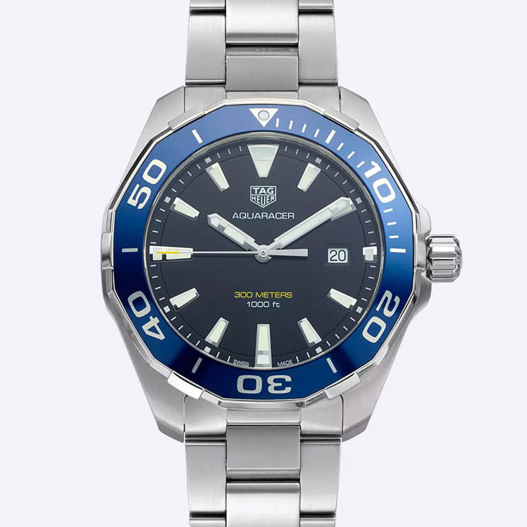 TAG Heuer Exclusive Aquaracer Limited Edition front