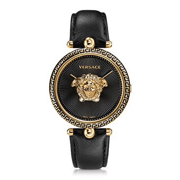 Versace Palazzo Empire Ladies' Gold Tone Strap Watch