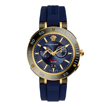 Versace V-Extreme Pro Men's Two Colour Blue Strap Watch