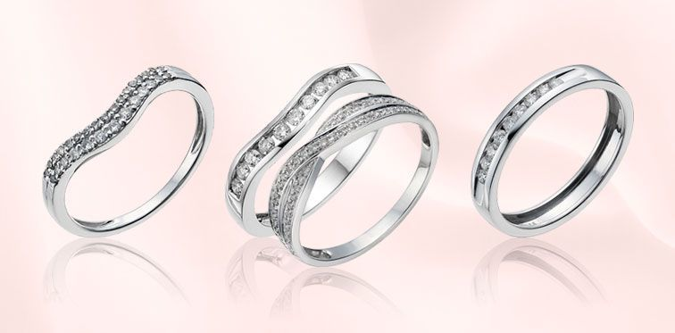 Wedding ring styles Wedding ring buyers guide Ernest Jones